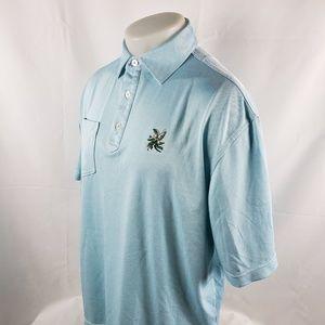 Footjoy FJ Mens Polo Golf Shirt Sz Large Pocket